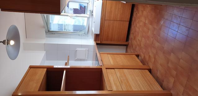 Rénovation De Cuisine IKEA En Hêtre De Plus 15 Ans -ARC BATIME