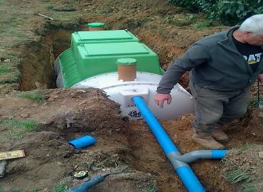 raccordement des canalisations-VERT ET PAYSAGES